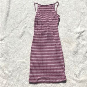 Dresses & Skirts - Pink dress with stripes